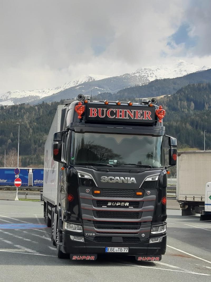 Herpa Scania 770S Buchner Transporte / Andreas Schubert